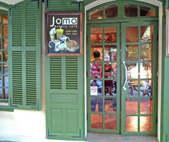 JOMA cafe in Luang Prabang
