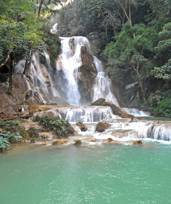 Waterfalls in Luang Prabang