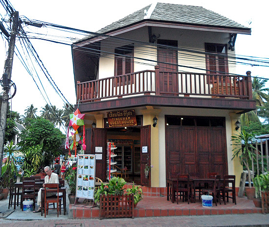 Quaint guesthouse in Luang Prabang