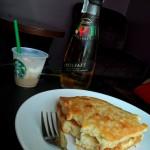 Scone with Apple Juice