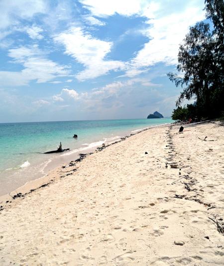 Beach Serenity on Poda Island