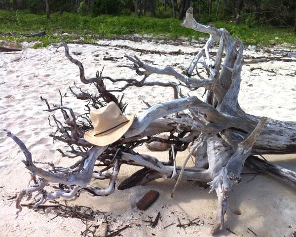 Beach on Poda Island