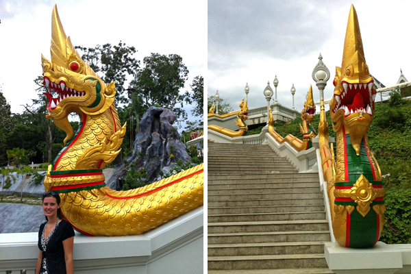 Dragons Wat Kaew Krabi