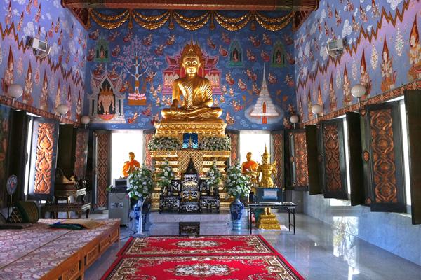 Inside Wat Kat Temple Krabi
