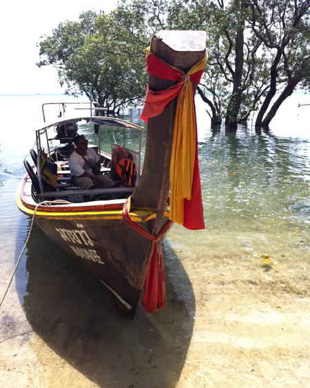 Long-Tail Boat at Railay East