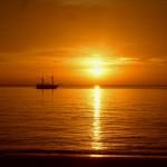 Sunset on Koh Lanta Beach