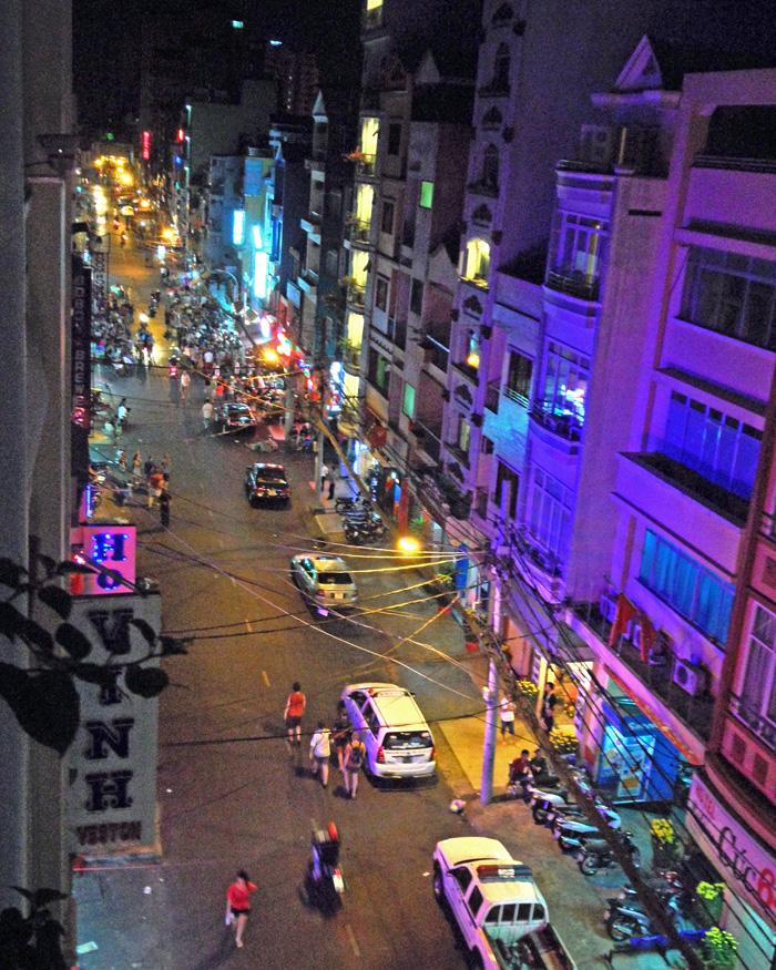 Backpacker Alley Saigon