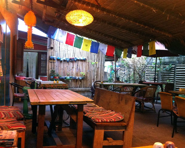 Inside ImmAim Cafe