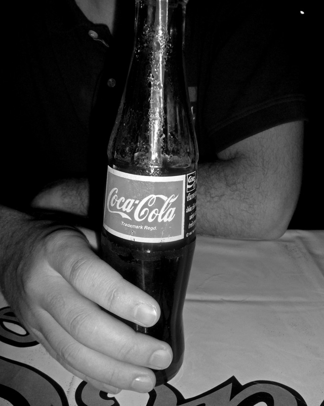Coke Glass Bottle | a Nomad's Dream