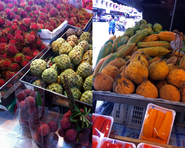 Fruit Selection City Market | a Nomad's Dream