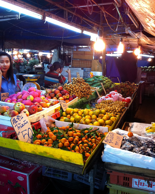 Fruit at Krabi City Market | a Nomad's Dream