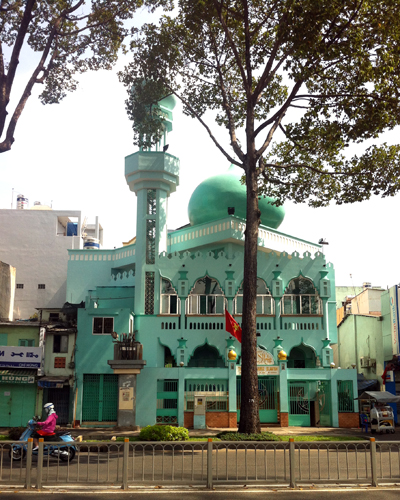 Turquoise Mosque in Saigon