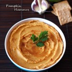 Homemade Pumpkin Hummus t