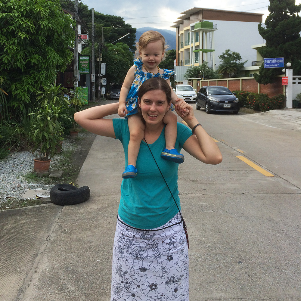 Going for a walk in Chiang Mai